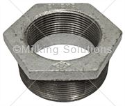 Socket Reducing M & F 2½ inch x 2  inch BSP Galv