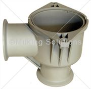 MS Body Lower 50mm Valve Clamp Fitting